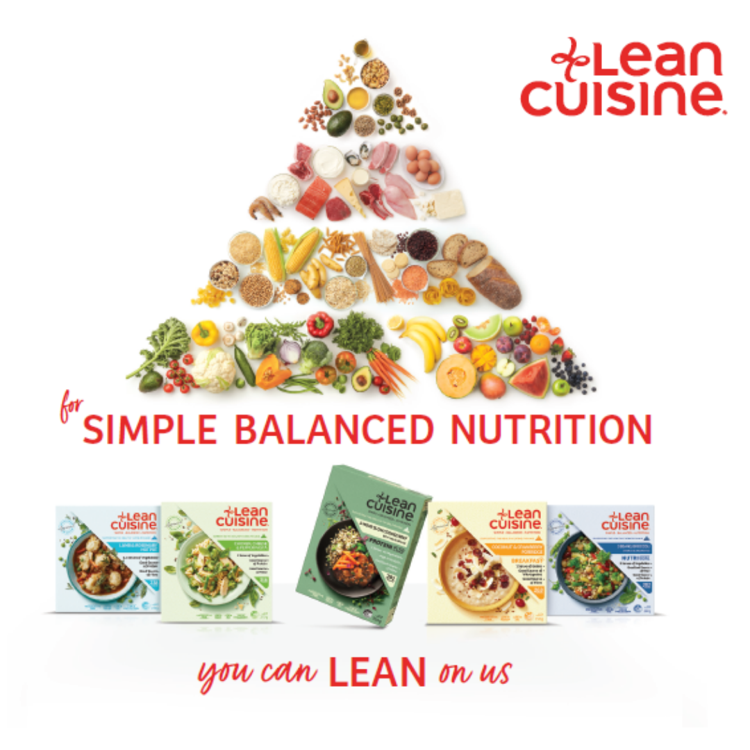 Introducing: The Lean Range by Lean Cuisine®